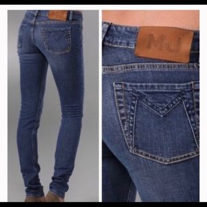 Marc by Marc Jacobs Low Rise Skinny Jeans